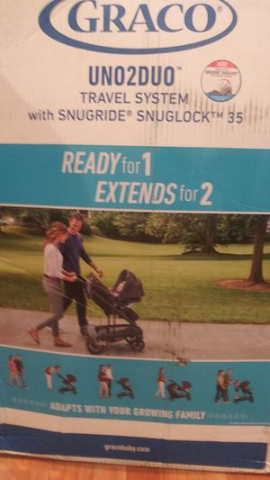 Uno 2 duo stroller and carseat new in box for Sale in Washington, DC