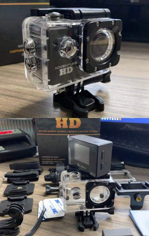 New in box Cobra Adventure HD sports generic gopro style camera cam 1080p water proof with lcd screen and accessories for Sale in Covina, CA