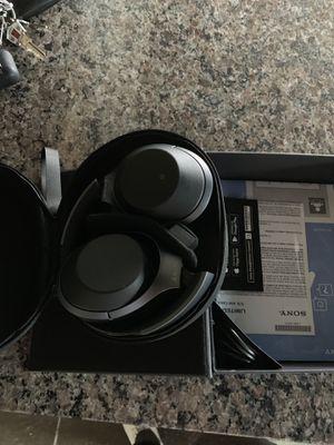 Sony WH1000xm2 headphones. Black. for Sale in Fresno, CA