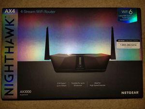 Netgear Router Nighthawk Wifi 6 for Sale in San Antonio, TX