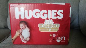 Huggies -little snugglers- Newborn Diapers 84 count *Never Opened* for Sale in Coral Springs, FL