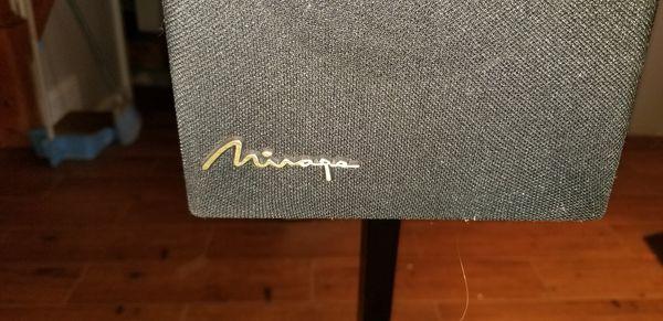 MIRAGE M-90 is High-End Bookshelf Surround Sound Speakers