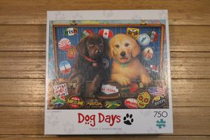 Buffalo Games Dog Days Stowaways 750 Piece Puzzle for Sale in Tampa, FL