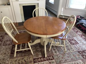 Table and chairs for Sale in Newton, MA
