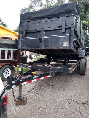 Dump trailer 7x14 2014 for Sale in Bradenton, FL