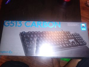 Logitech G513 Carbon for Sale in Cumberland, RI