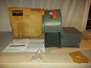 MADE IN USA Dayton Blower Model 4C118, Less Motor, 9 in Wheel Dia. (In.), — Voltage, — Full Load Amps, — Motor HP for Sale in Spring Valley, CA