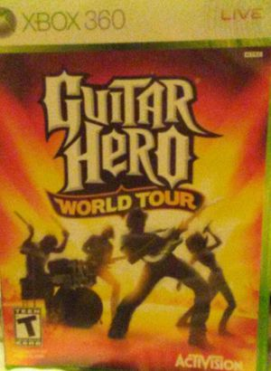 XBOX 360 Game: Guitar Hero World Tour for Sale in West Valley City, UT