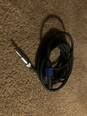 XLR speaker cable 15' for Sale in Fresno, CA