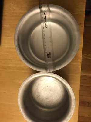 Aluminum cooking pans for Sale in Waltham, MA