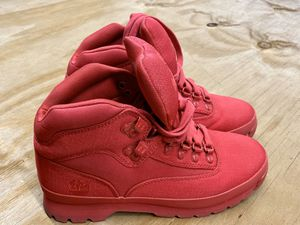 Timberland Red Size 8 boots see details info for Sale in Tampa, FL