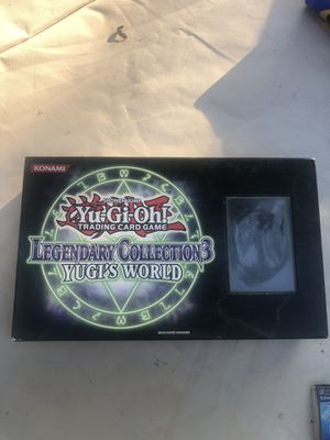 Yugioh legendary collection 3 for Sale in Evansville, IN