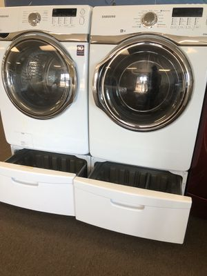 Samsung Washer & Electric Dryer for Sale in Houston, TX