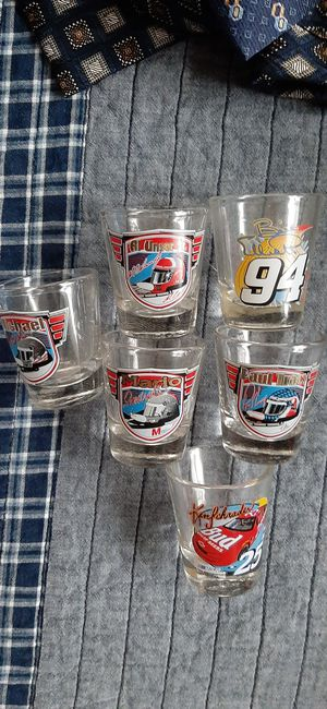 Collectable racing shot glasses for Sale in Safety Harbor, FL