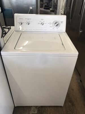 San Carlos Appliances. Sale & services. Used, huge selection washers, white color, top load , heavy duty, super capacity plus , great condition for Sale in San Jose, CA