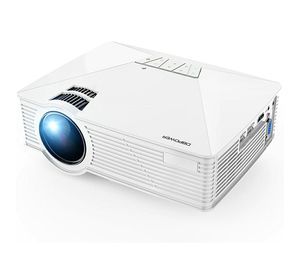 Mini Projector, DBPOWER GP15 Projector with 50,000-hour LED Life, Theater LED Projector, Compatible with Amazon Fire TV Stick, HDMI/VGA/AV/SD, White for Sale in Covina, CA