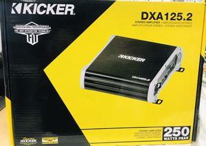 NEW Kicker 43DXA125.2 125-Watt 2-Channel Full-Range Car Amplifier for Sale in Nashville, TN
