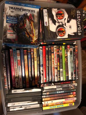 DVD movies 142 all excellent condition for Sale in Manassas, VA