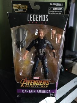 Marvel Legends Infinty War Captain America for Sale in Patterson,  CA