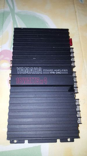 Yamaha Amp Amplifier Car Stereo....Great For Tweeters for Sale in Spring Hope, NC