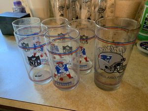 Patriots old logo glasses for Sale in undefined