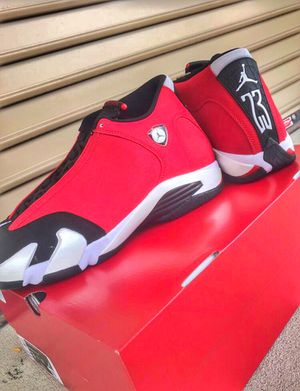 Air Jordan 14 Red Toro SIZE 13 Deadstock Sold out everywhere for Sale in Orlando, FL