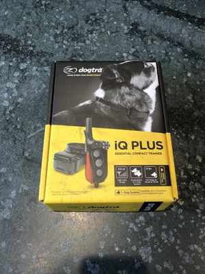 Dogtra iQ Plus with additional paired receiver (2-dog system) for Sale in San Diego, CA
