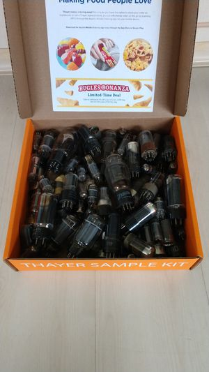 Box of Vacuum Tubes for Sale in Weirton, WV