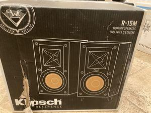 Klipsch R-15M Bookshelf Speakers Brand New for Sale in San Diego, CA