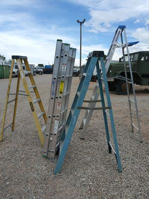 Ladders - blue 6ft step ladder for Sale in Henderson, CO