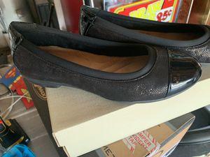 Clarks Women's Shoes Black Size 9 W for Sale in Fontana, CA