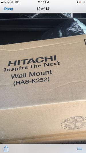 HITACHI Wall Mount projector (HAS-K252) for Sale in Long Beach, CA