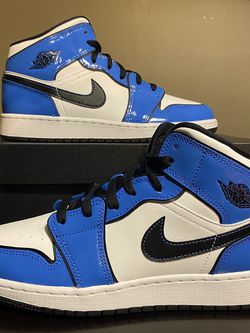 """Air Jordan Retro 1 GS """"Signal Blue"""" - Size 7Y BRAND NEW/DEADSTOCK for Sale in Chicago,  IL"""