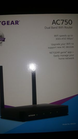 Dual band WiFi router for Sale in Wichita, KS