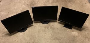 """Three 24"""" Full HD Monitors/Displays for Sale in Rockville, MD"""