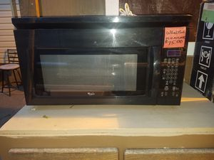 **WHIRLPOOL OVER THE STOVE MICROWAVE** for Sale in Vancouver, WA
