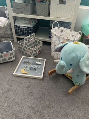 Nursery decor for Sale in Burlington, NJ