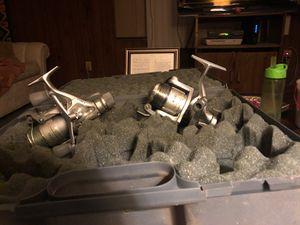 6 Reels. Penn Monofil, ABU Sweden, Daiwa,Shimano for Sale in Riverside, CA