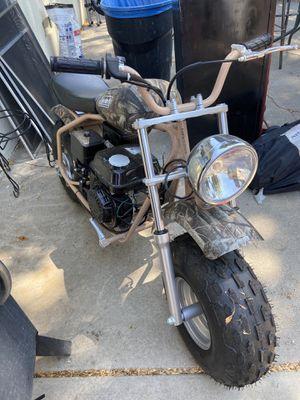 Mini bike /trail bike like new CT200U camo sweet minibike for Sale in Sacramento, CA