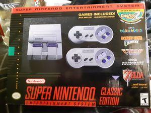 Super nintendo classic for Sale in Avon Park, FL