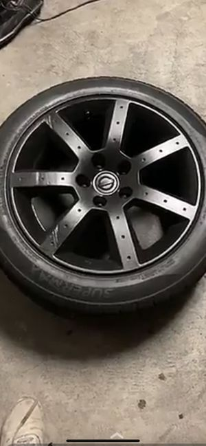350Z Stock Rims Gloss Black Painted for Sale in City of Industry, CA