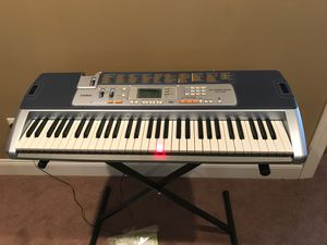 Casio Lighted Keyboard with Application Integration LK110 for Sale in Ashburn, VA