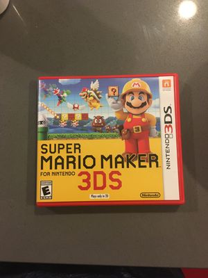 Super Mario Maker for the Nintendo 3DS for Sale in Issaquah, WA