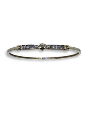 10k diamond bangle for Sale in Alexandria, VA