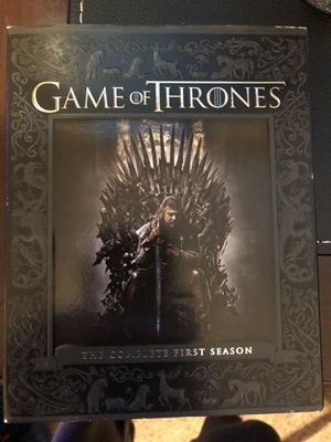 Game of Thrones season 1 DVD for Sale in Chapin, SC