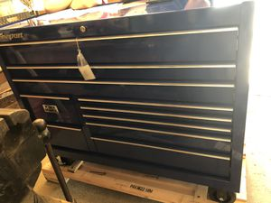 Snap on 55' tool box with power box for Sale in Cary, IL