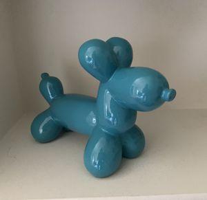 Blue balloon dog decor for Sale in Washington, DC