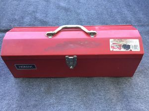 HOMAK TOOL BOX WORKS GREAT for Sale in Glendale, AZ