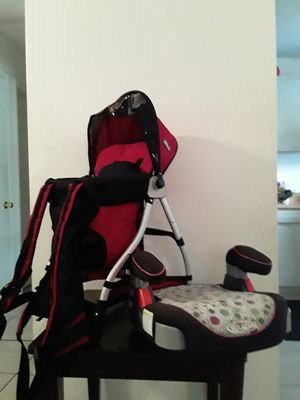 Car Seat Graco and Chicco SmartSupport Backpack for Sale in DeLand, FL