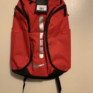 Nike Hoops Elite Pro Backpack - NEW - BA5990-657 Max Basketball Silver Red Black for Sale in Memphis, TN